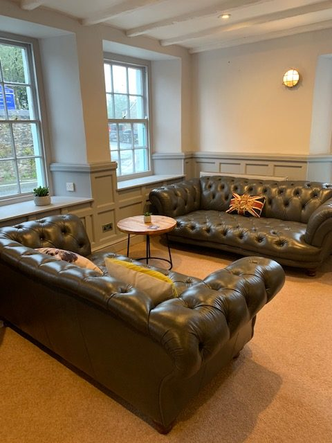 Comfy chairs at Plymstock Inn
